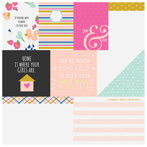 So Pretty 12 x 12 paper - Fancy Pants Millie & June