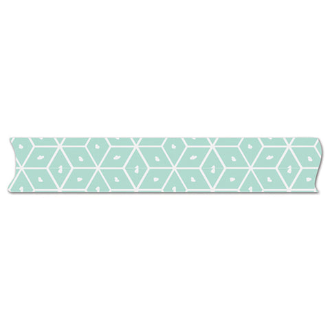Aqua Geo Washi Tape - Fancy Pants Millie & June