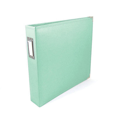 Mint 12x12 Ring Faux Leather Album - WRMK