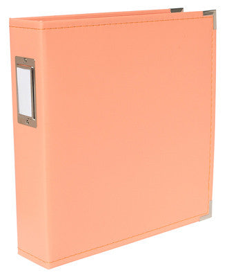 Coral 8.5x11 Ring Faux Leather Album -WRMK