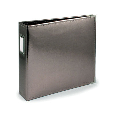 Platinum 12x12 Ring Faux Leather Album -WRMK