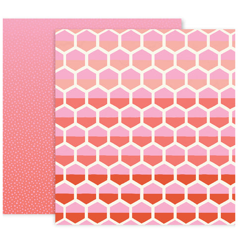 Paper No 8 12x12 Pattern Paper - Paige Evans - Turn the Page