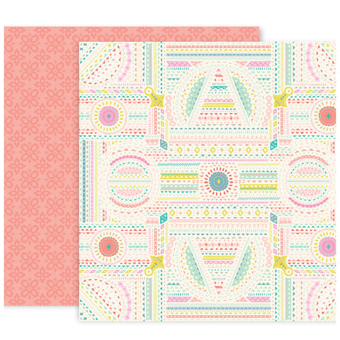 Paper No 10 12x12 Pattern Paper - Paige Evans - Turn the Page