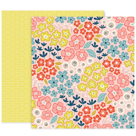 Paper No 15 12x12 Pattern Paper - Paige Evans - Turn the Page