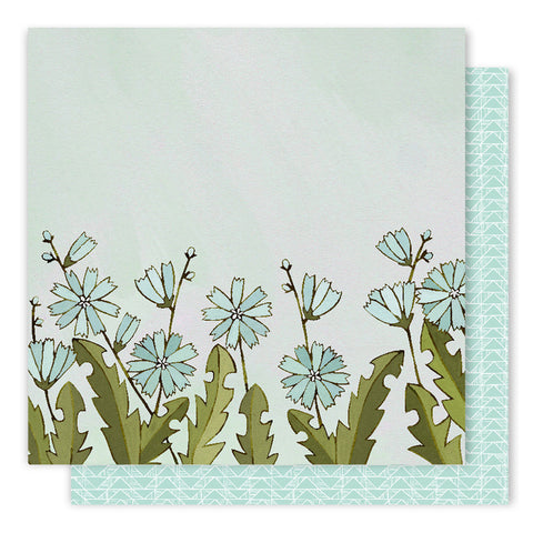 Chicory 12x12 Pattern Paper - 1Canoe2 - Creekside