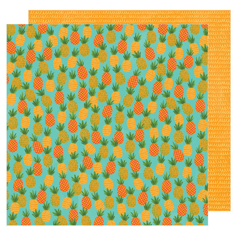 Sweet Sensation 12x12 Pattern Paper - Amy Tangerine - Hustle and Heart