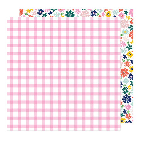 Happy 12x12 Pattern Paper - Dear Lizzy - Star Gazer