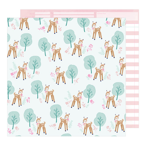 Woodland Wonder 12x12 Pattern Paper - Dear Lizzy - Star Gazer