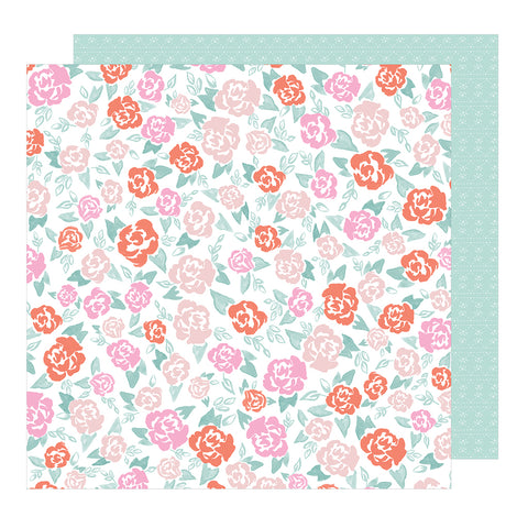 Sweet Pea 12x12 Pattern Paper - Dear Lizzy - Star Gazer