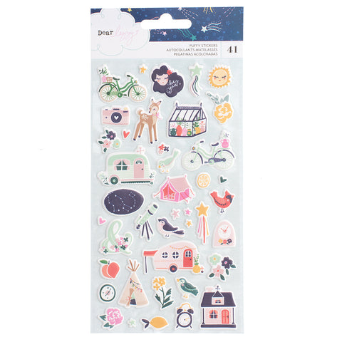 Puffy Stickers - Dear Lizzy - Star Gazer