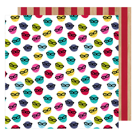Go Incognito 12x12 Pattern Paper - Shimelle - Glitter Girl
