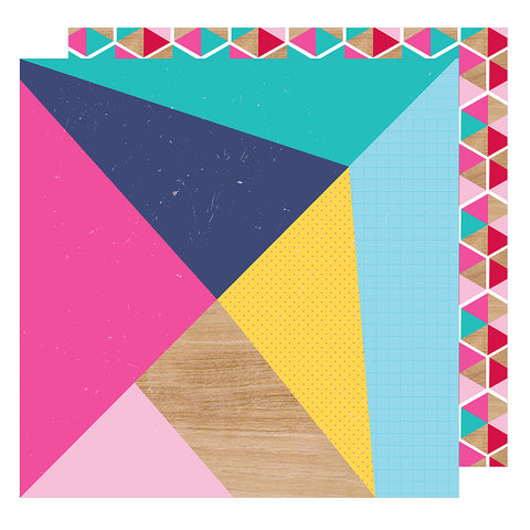 Make a Statement 12x12 Pattern Paper - Shimelle - Glitter Girl