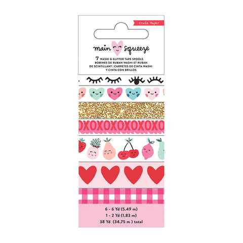 Washi Tape - Crate Paper - Main Squeeze