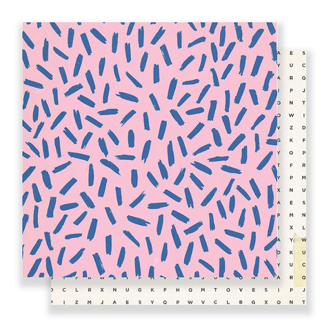 Girls Night 12x12 Pattern Paper - Crate Paper - Good Vibes