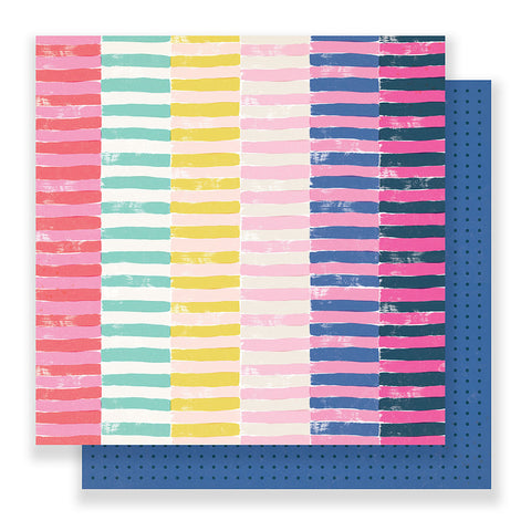Passion 12x12 Pattern Paper - Crate Paper - Good Vibes