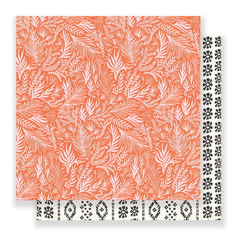 Foreigner 12x12 Pattern Paper - Crate Paper - Here & There