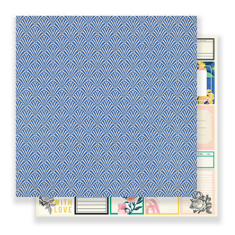 Provence 12x12 Pattern Paper - Maggie Holmes - Flourish