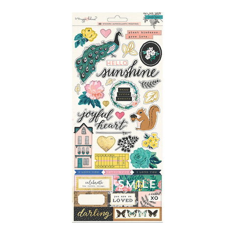 6x12 Rose & Gold Foil Stickers - Maggie Holmes - Flourish