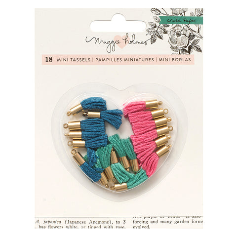 Tiny Tassels - (18 Pieces) - Maggie Holmes - Flourish PRE ORDER + FREE SHIPPING