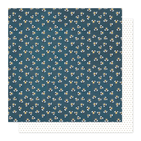Fireflies 12x12 Pattern Paper - 1Canoe2 - Twilight