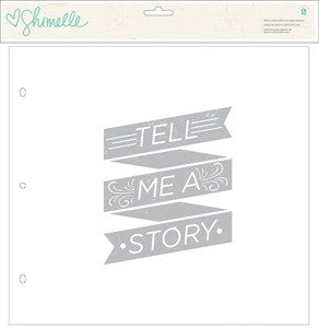 Shimelle 12 x 12 Page Overlays