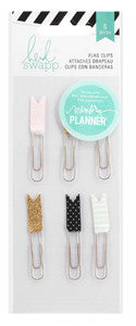 Heidi Swapp Hello Beautiful Flag Paper Clips