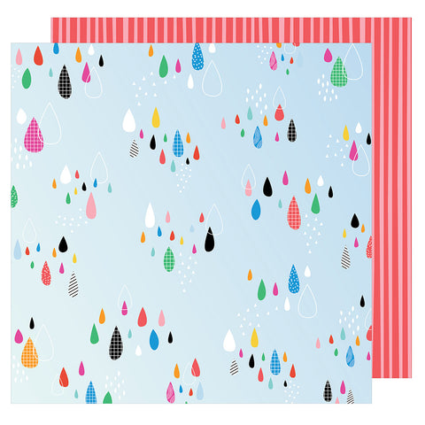 Sprinkle 12x12 Patterned Paper - Amy Tangerine - On a Whim