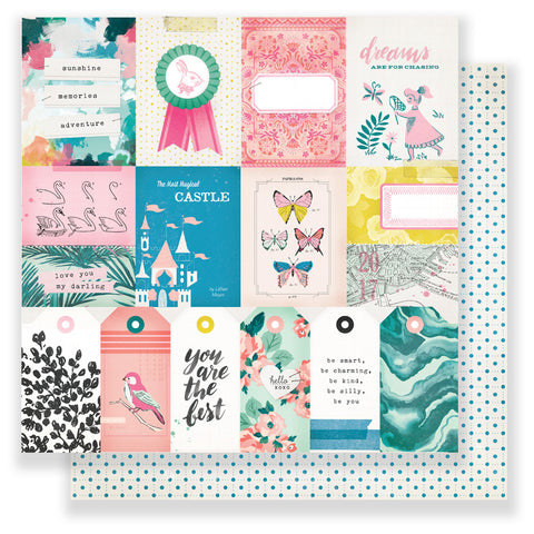 Adventure 12x12 Patterned Paper - Maggie Holmes - Chasing Dreams