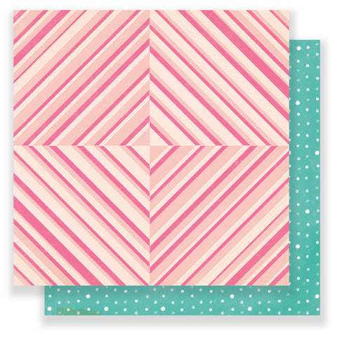Be Happy 12x12 Patterned Paper - Maggie Holmes - Chasing Dreams