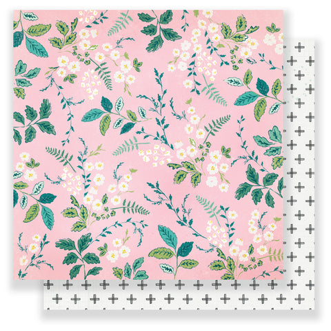 My Darling 12x12 Patterned Paper - Maggie Holmes - Chasing Dreams