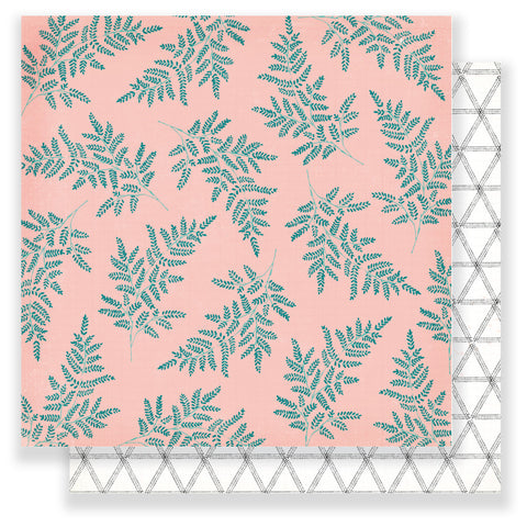 Delightful 12x12 Patterned Paper - Maggie Holmes - Chasing Dreams