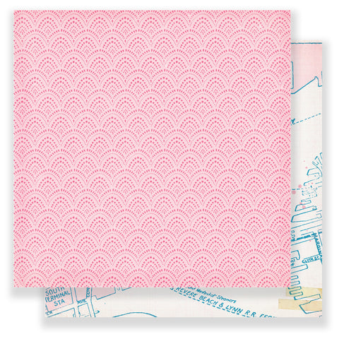 Destination 12x12 Patterned Paper - Maggie Holmes - Chasing Dreams