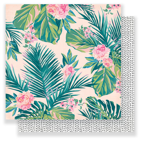 Hello Beautiful 12x12 Patterned Paper - Maggie Holmes - Chasing Dreams
