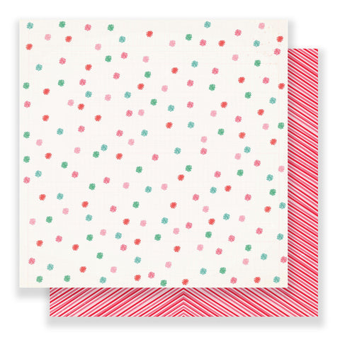 Very Merry 12x12 Pattern Paper - Crate Paper - Falala