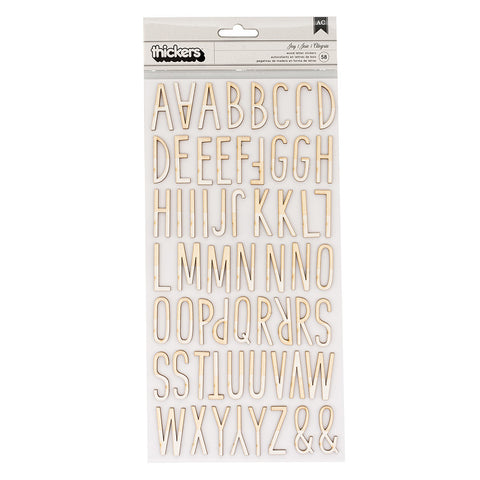Joy Wood Veneer Thickers - Crate Paper - Falala
