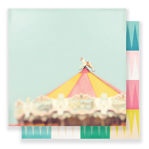 Magical 12x12 Pattern Paper - Maggie Holmes - Carousel