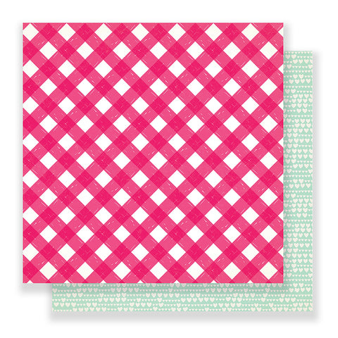 Just Love 12x12 Pattern Paper - Crate Paper - Main Squeeze