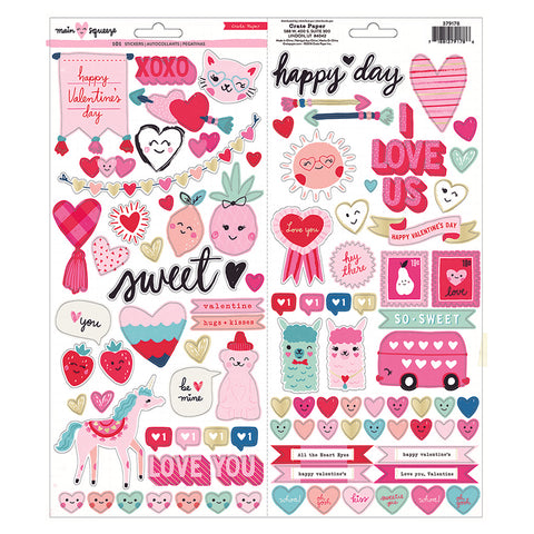 6x12 Stickers - Crate Paper - Main Squeeze