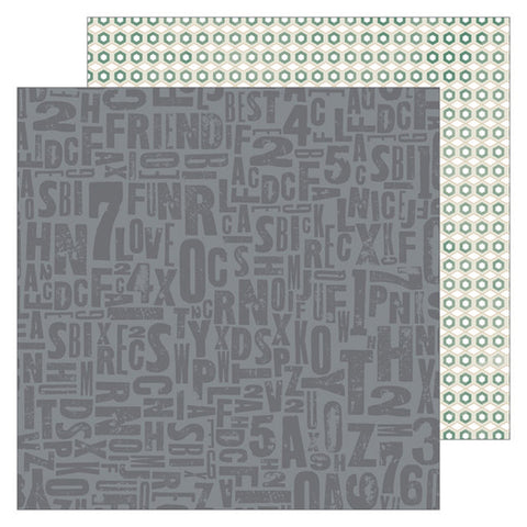 Bold 12x12 Pattern Paper - Pinkfresh Studio - Boys Fort