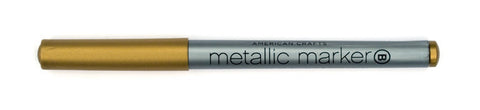 Metallic Marker Bold Point Gold