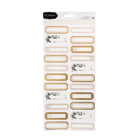 Gold Foil Label Stickers - Pebbles - Jen Hadfield Heart of Home