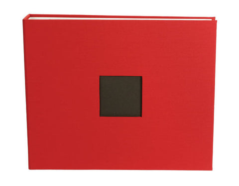 American Crafts 12x12 Cloth Album Cardinal