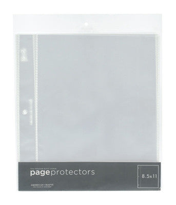 8.5x11 Page Protectors - American Crafts