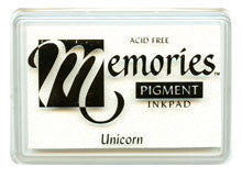 Unicorn (White) Memories Pigment Ink Pad