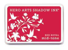 Red Royal Mid-Tone Shadow Ink Pad