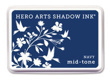 Navy Mid-Tone Shadow Ink Pad