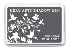 Charcoal Mid-Tone Shadow Ink Pad
