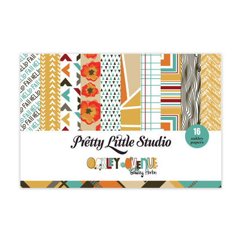 4x6 Paper Pack - Pretty Little Studio Oakley Avenue