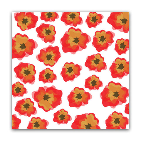 Pretty Poppies 8x8 Vellum - Pretty Little Studio Oakley Avenue