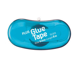 PLUS Bean Glue Tape Blue